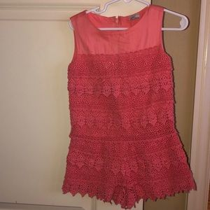 Mayoral size 4t coral romper
